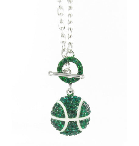 Basketball Toggle Necklace
