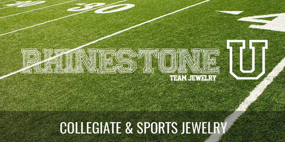 Rhinestone U Collegiate & Sports Jewelry