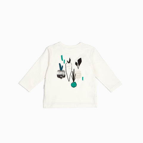 """More Veggies"" Long Sleeve Top"