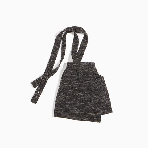Skirt With Adjustable Straps and Elastic Waistband