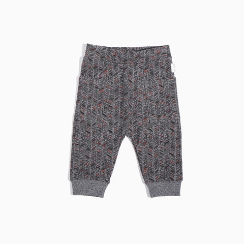 Heather Grey Pine Needles Jogger