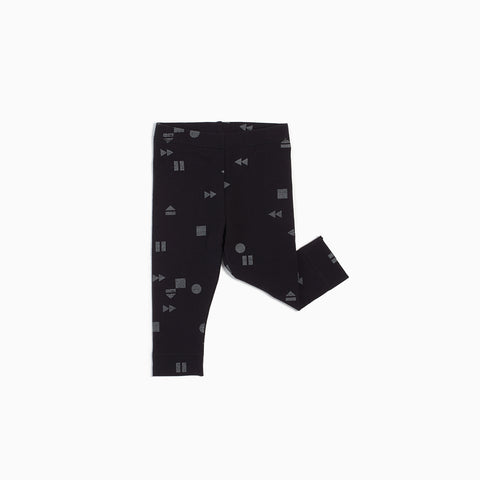 "Black ""Play/Replay"" Legging"