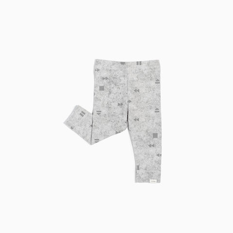 "Light Grey ""Play/Replay"" Legging"