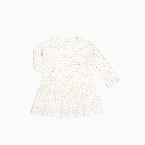 """White Noise"" Long Sleeve Dress"