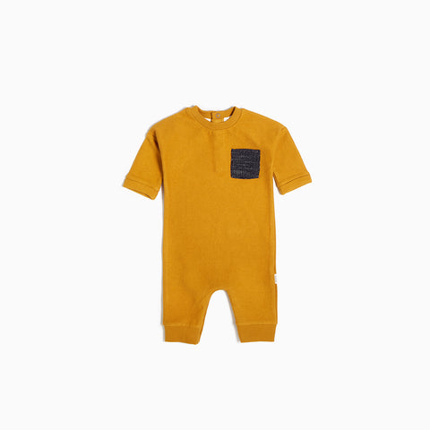 "Wheat ""It Pasta Be You"" Playsuit"
