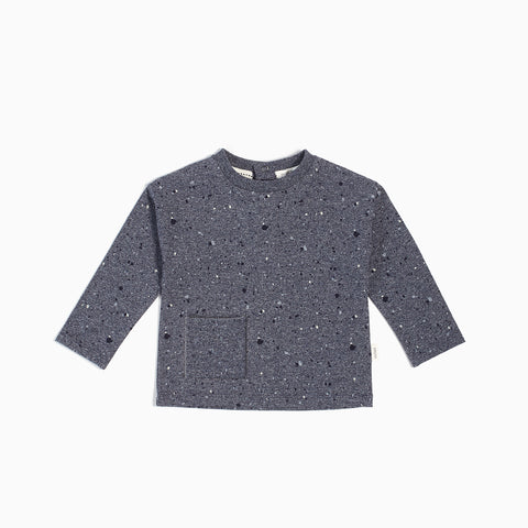 Blue-grey Blizzard Long Sleeve Top