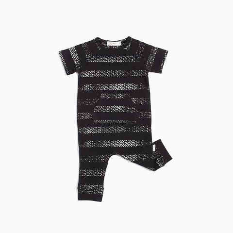 Black Tire Marks Playsuit