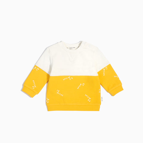 """Miles to Go"" Color Block Sweater"