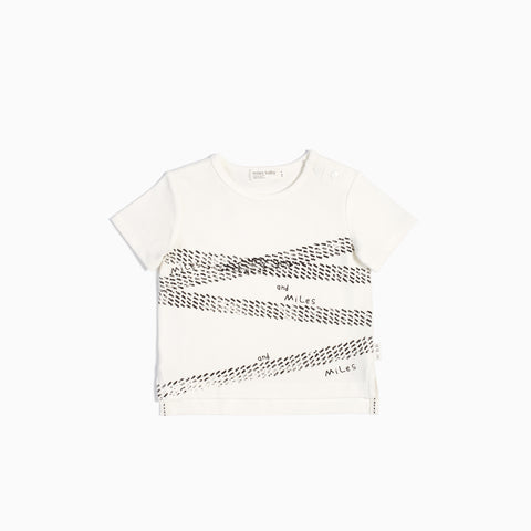 Off White Tire Marks T-Shirt