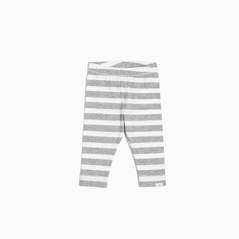 Striped Heather Grey Legging