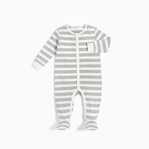 Striped Heather Grey Sleeper