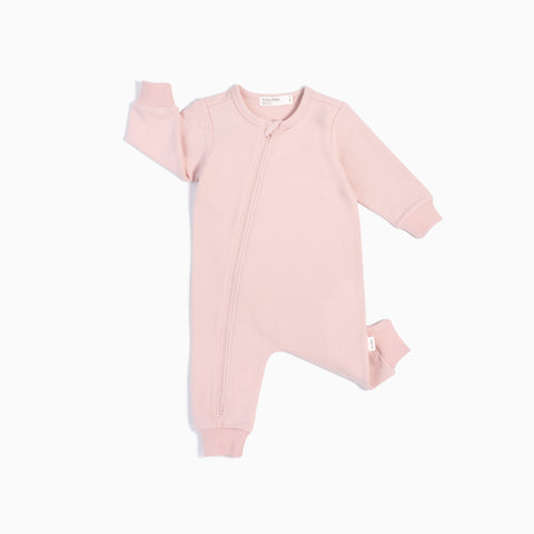"""Miles Basic"" Light Pink Playsuit"