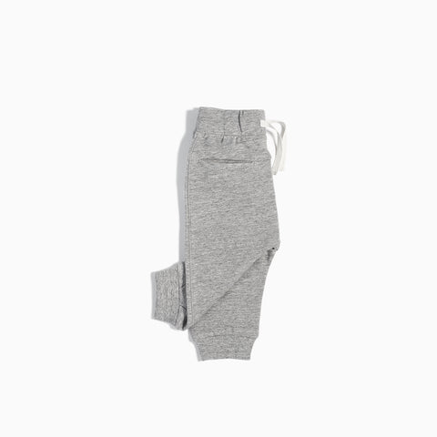 """Miles Basic"" Heather Grey Jogger (3M - 4T)"