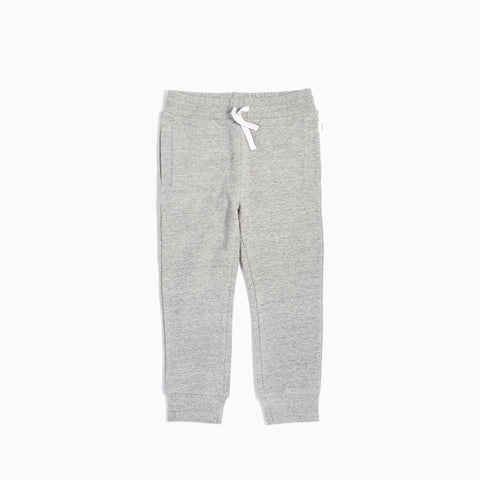 """Miles Basic"" Heather Grey Jogger (5T - 7T)"