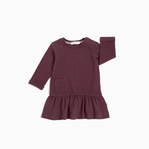 Burgundy Academy Ottoman Dress
