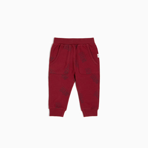 "Red ""Arcade Game"" Jogger"