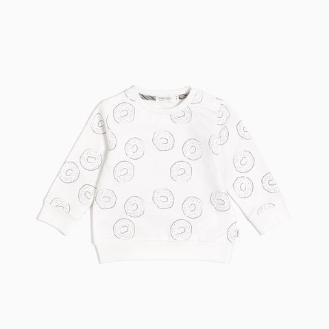 "Off White ""MTL Bagel Shop"" Crew Neck Sweater"