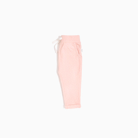 "Light Pink ""Alveolus"" Jogger"