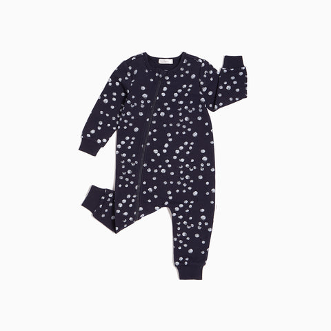 Navy Snow Day Playsuit