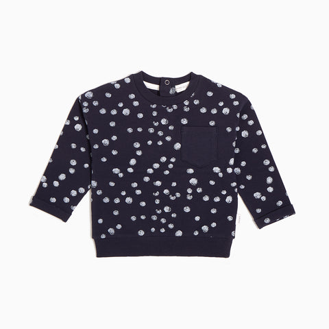 Navy Snow Day Crew Neck Sweater