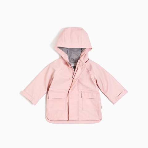 ''Miles Basic'' Light Pink Anorak Jacket