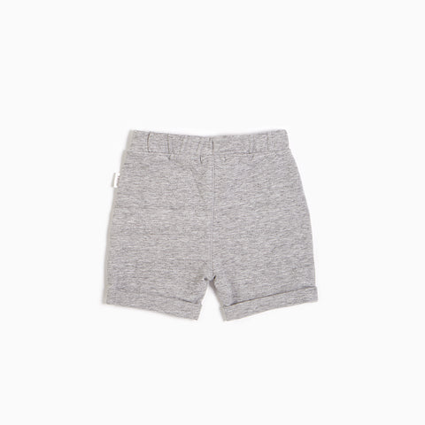 ''Miles Basic'' Heather Grey Short