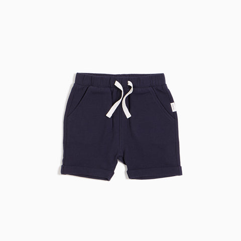 ''Miles Basic'' Navy Short