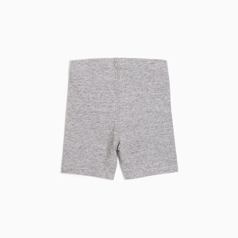 ''Miles Basic'' Heather Grey Biker Short
