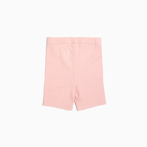 ''Miles Basic'' Light Pink Biker Short