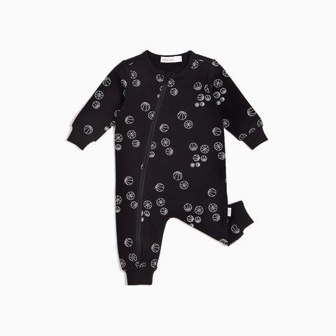 Black Basketball Playsuit