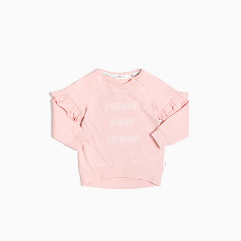 Light Pink ''Sunny days ahead'' Crewneck