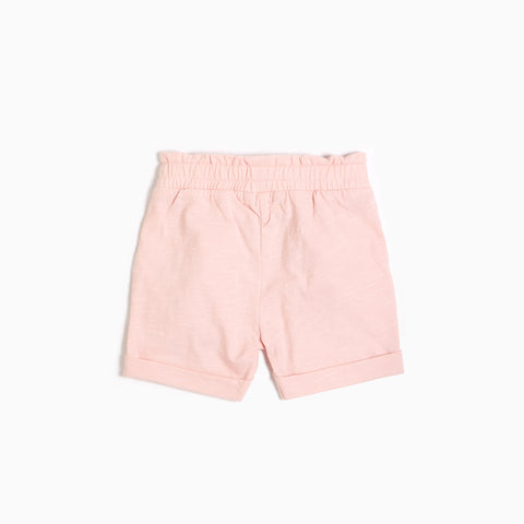 Light Pink Shorts with ruffles