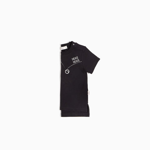 Black Tennis T-shirt