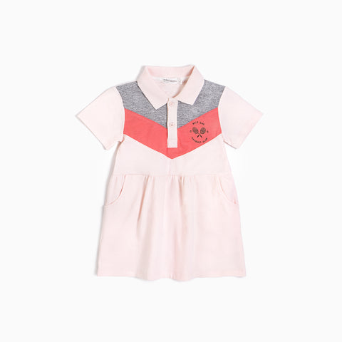 Light Pink Polo Dress