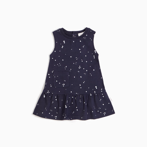 Navy Sparkler Tank Dress