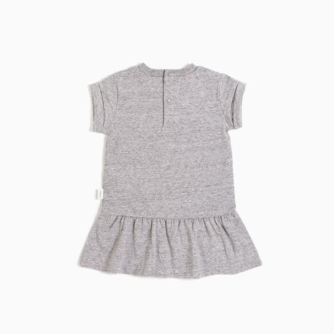 ''Miles Basic'' Heather Grey Dress
