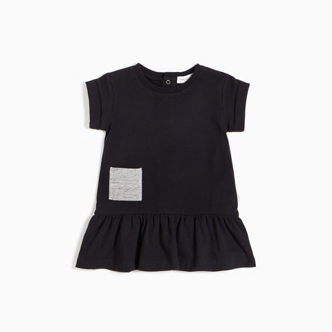 ''Miles Basic'' Black Dress