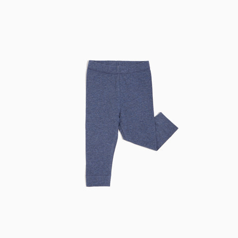 ''Miles Basic'' Marled Blue Legging