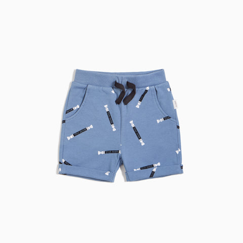 Boys' Miles Rolls Print on Candy Sky Shorts