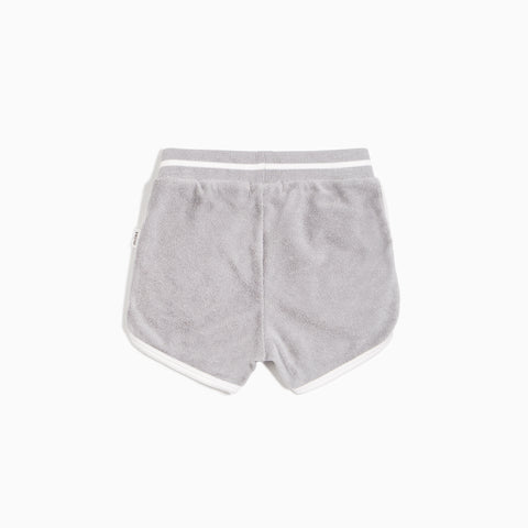 Boys' Grey Terry Cloth Shorts