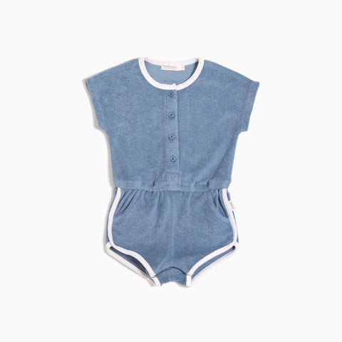 Baby Girls' Candy Sky Terry Cloth Romper