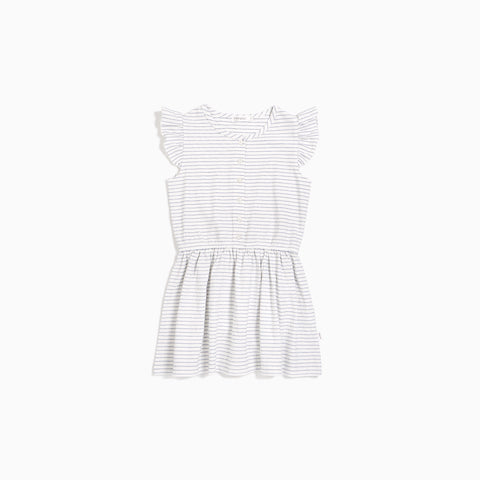 Candy Sky Stripe Flutter Dress