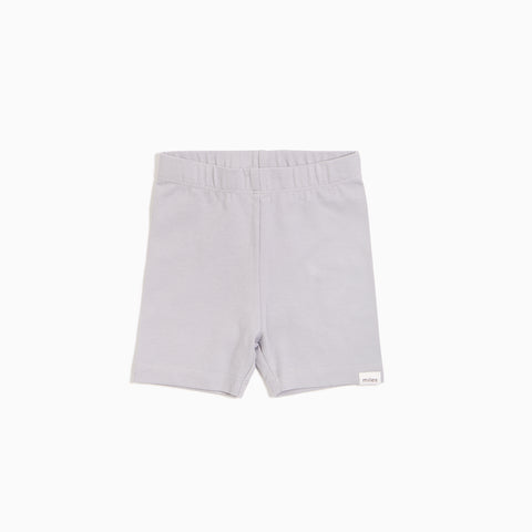 Lunar Grey Bike Shorts