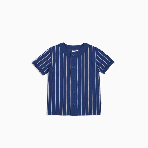 Bleu Stripe Stitch Sandlot Jersey