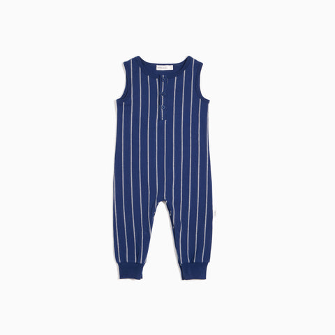 Boys Bleu Stitch Striped Playsuit