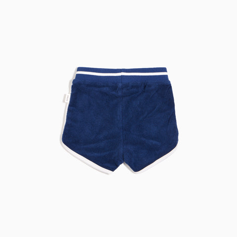 Boys Bleu Terry Cloth Shorts
