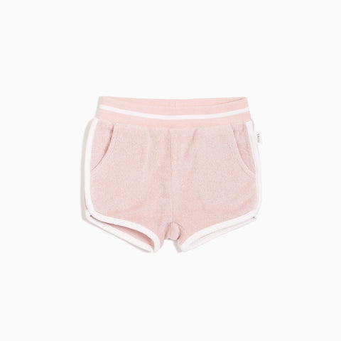 Girls Blush Terry Shortie