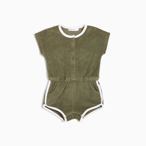 Girls Forrest Terry Retro Romper