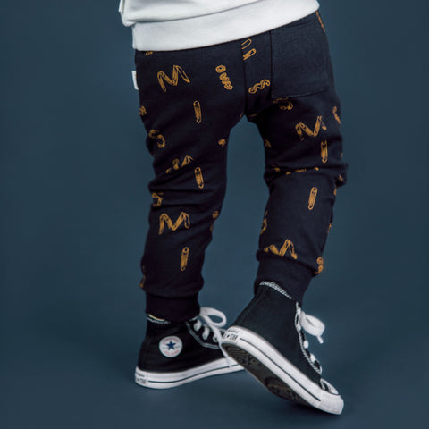 "Navy ""It Pasta Be You"" Jogger"