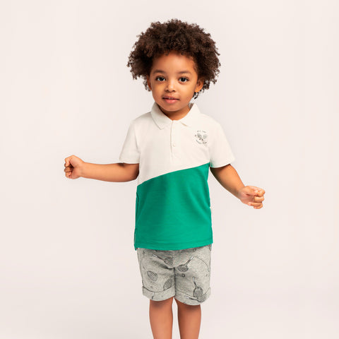 English Court Green Polo T-shirt